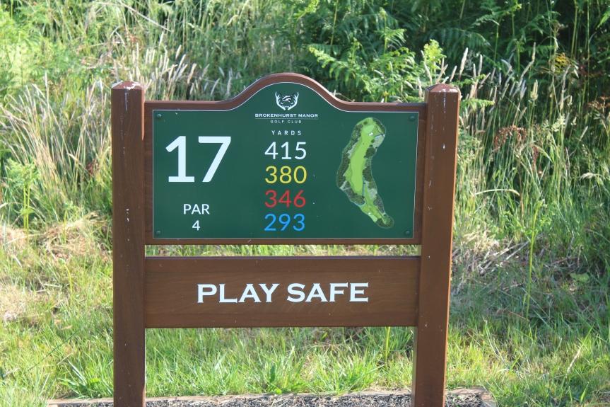 17th Hole @BrokenhurstGC